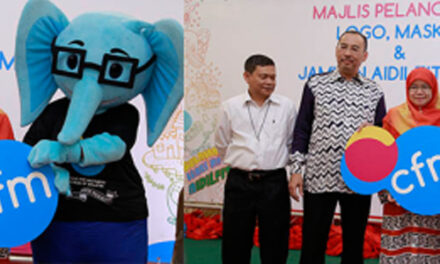 CELEBRATES #CFMMERIAHRAYA OPEN HOUSE WITH THE LAUNCHING OF CFM NEW LOGO AND MASCOT