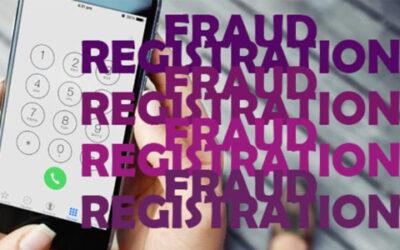 HOW FRAUD REGISTRATION OCCURS?