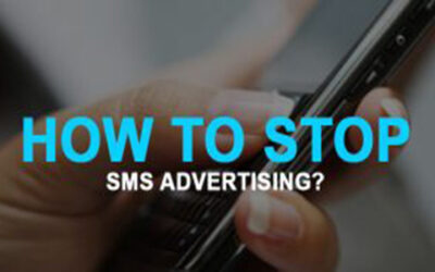 DO YOU KNOW? HOW TO STOP SMS ADVERTISING?