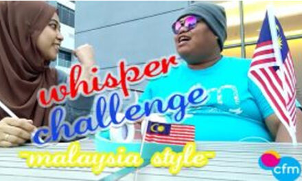 Whisper Challenge – Malaysia Style by CFM