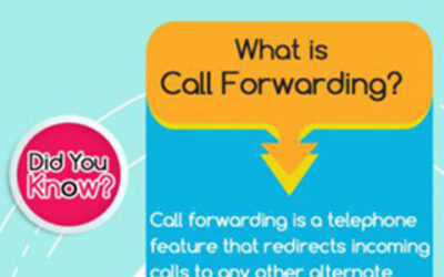 INFOGRAPHIC : CALL FORWARDING, CALL TRANSFER, & VIRTUAL PHONE NUMBER