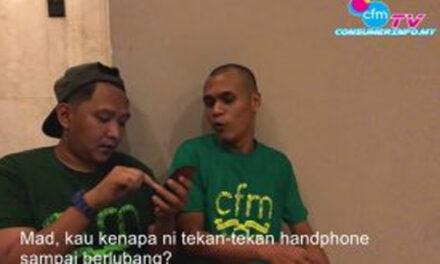 CFM TV | Kempen bersama 'Standup Comedians' @ag_hafiz85 & @mad_sabah – Promo MY Mobile Rights