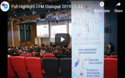 Full Video Highlight CFM Dialogue 2019 | 3 JULY 2019