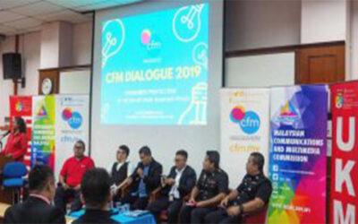 DIALOG CFM 2019: KEKAL SELAMAT DALAM TALIAN