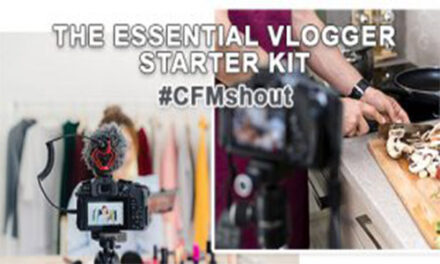 THE ESSENTIAL VLOGGER STARTER KIT | CFM