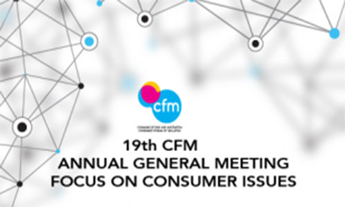 19th CFM ANNUAL GENERAL MEETING FOCUS ON CONSUMER ISSUES